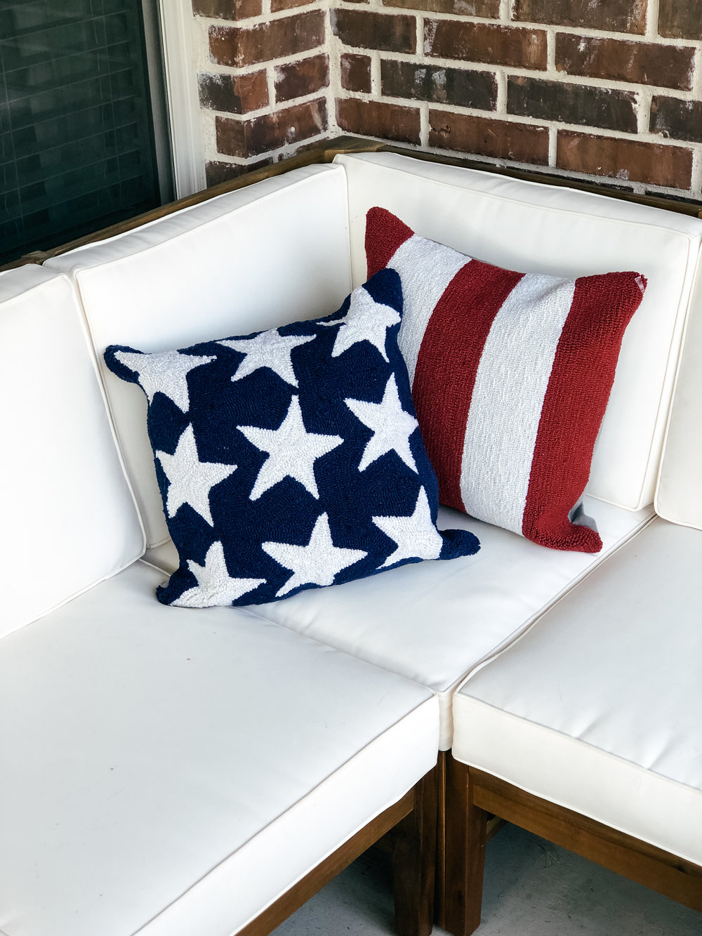 Simply Sisters Ballard Designs Americana Pillows