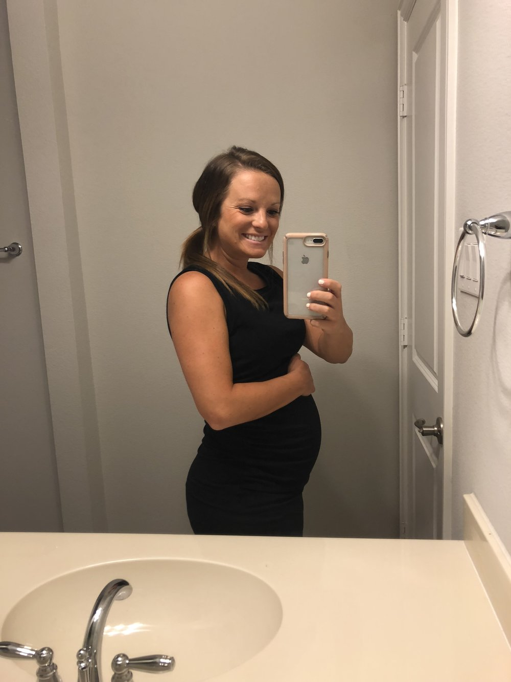 Baby girl really popped at about 21 weeks!