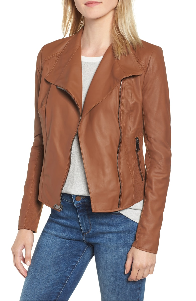 Andrew Marc Marc New York by Andrew Marc Felix Stand Collar Leather Jacket.jpg