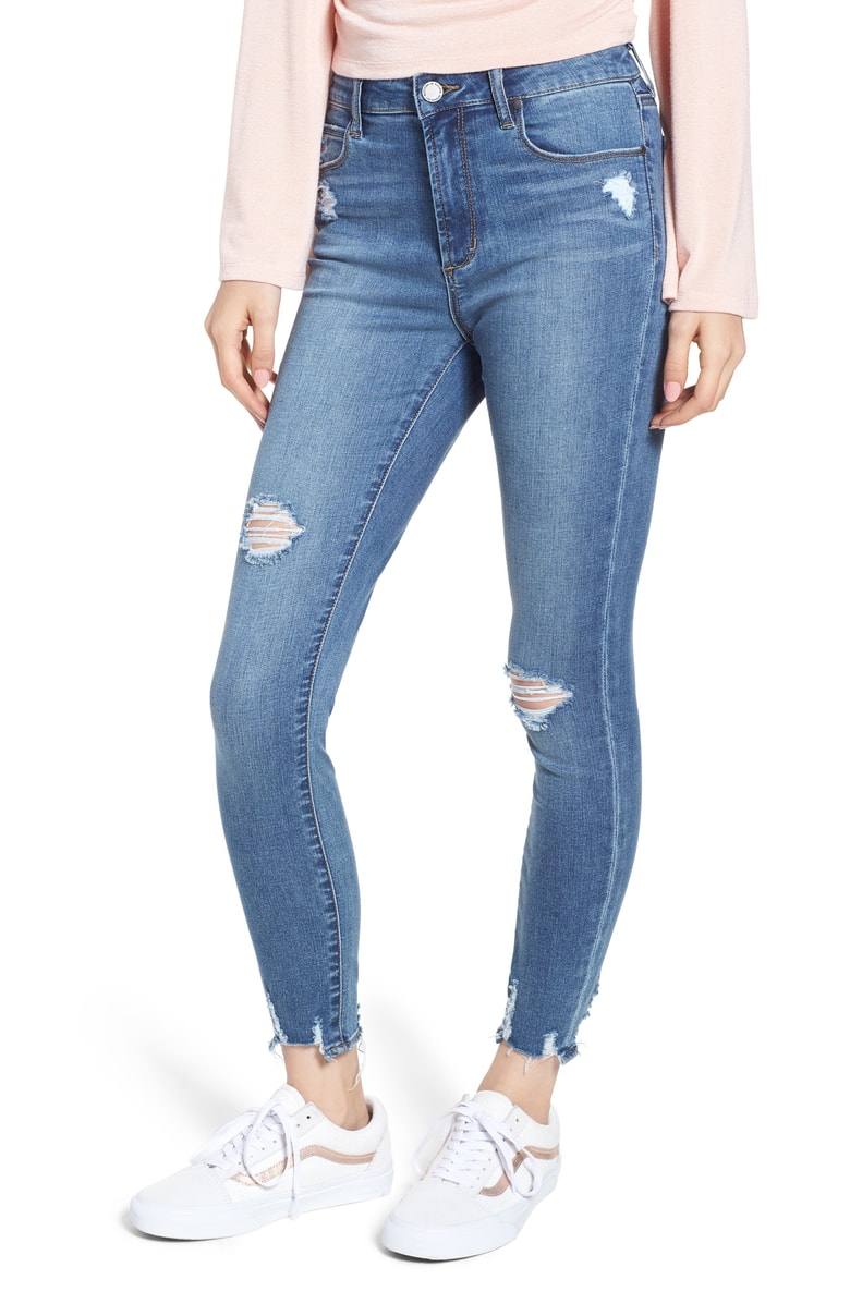 Articles of Society Heather High Waist Distressed Skinny Jeans.jpg