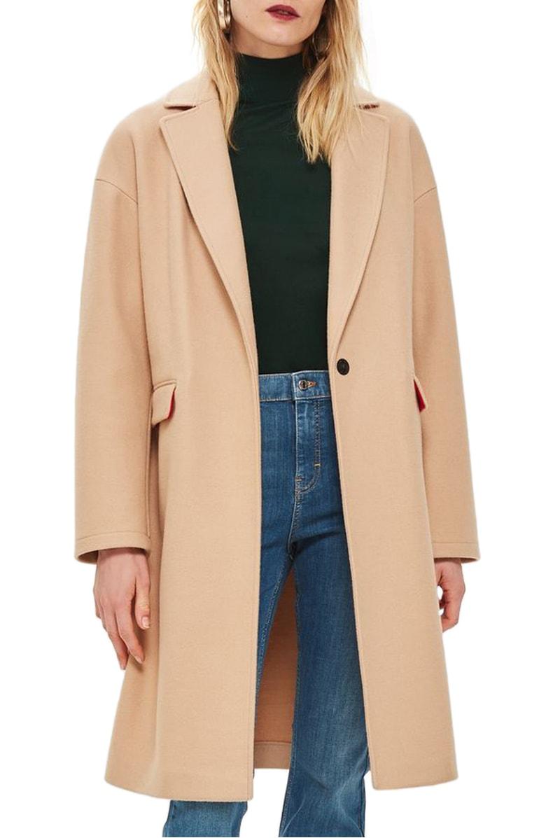 Topshop Lily Knit Back Midi Coat.jpg