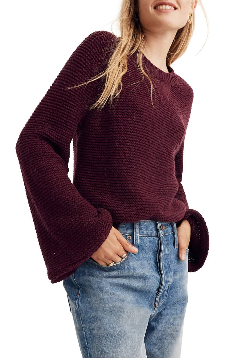 Madwell Wide Sleeve Pullover Sweater.jpg