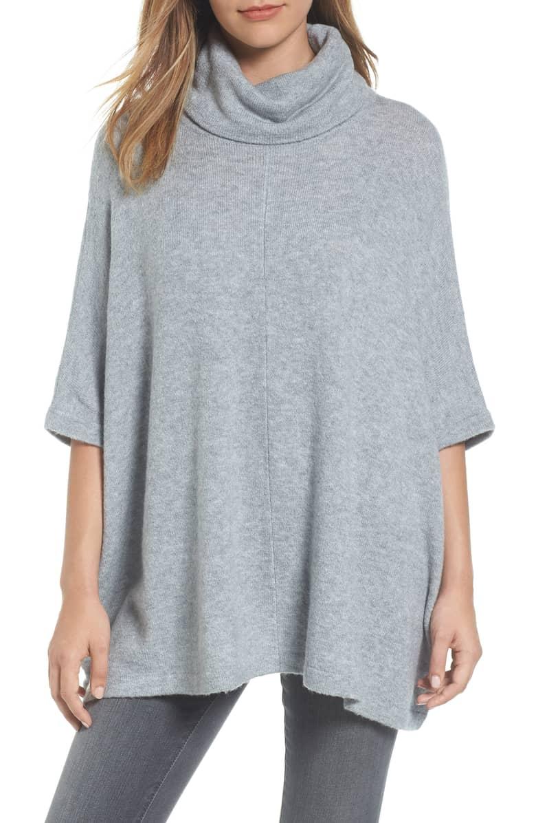 Caslon Cowl Neck Sweater Poncho.jpg