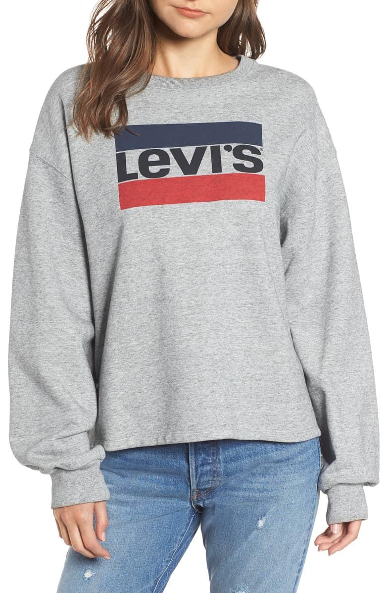 Levi's Logo Big Sleeve Sweatshirt.jpg