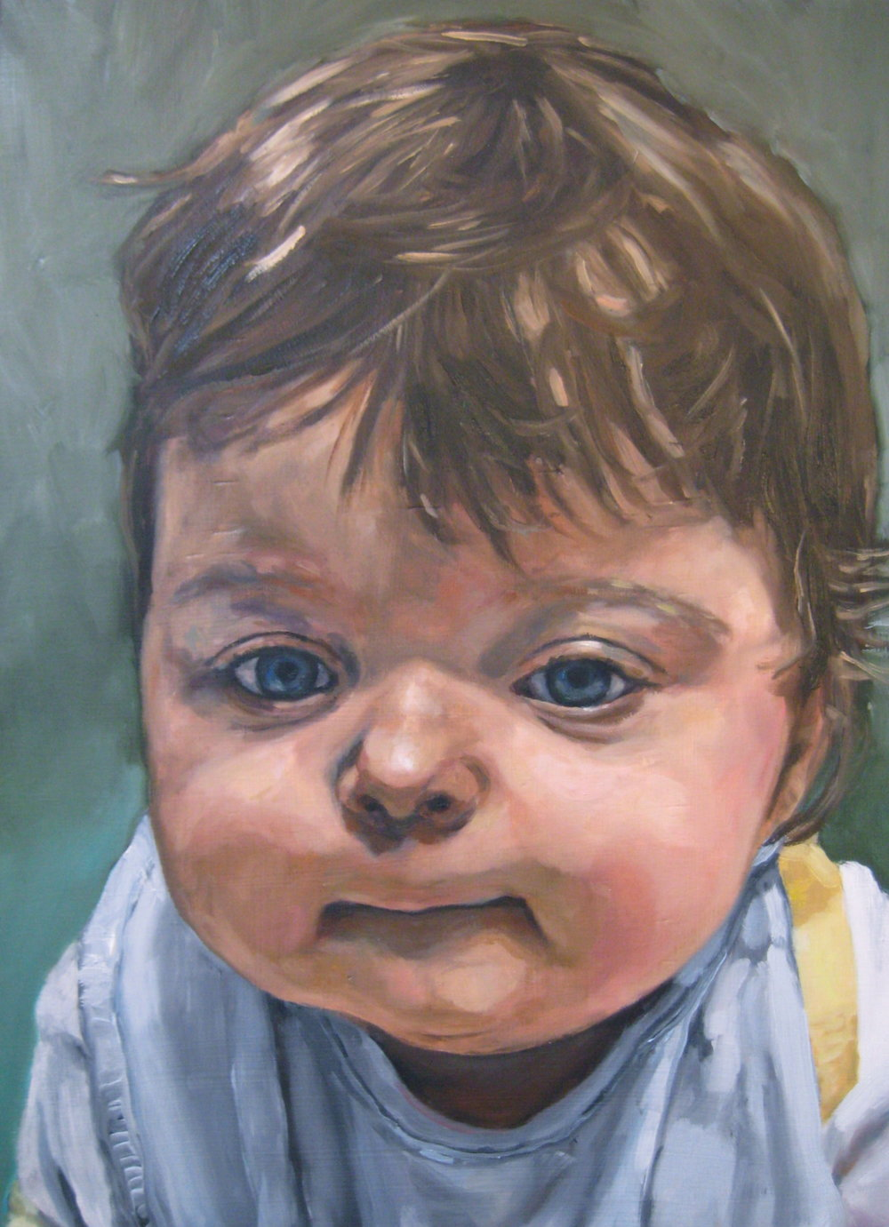"Rohan   Oil on board 14"" x 20"" 2013"