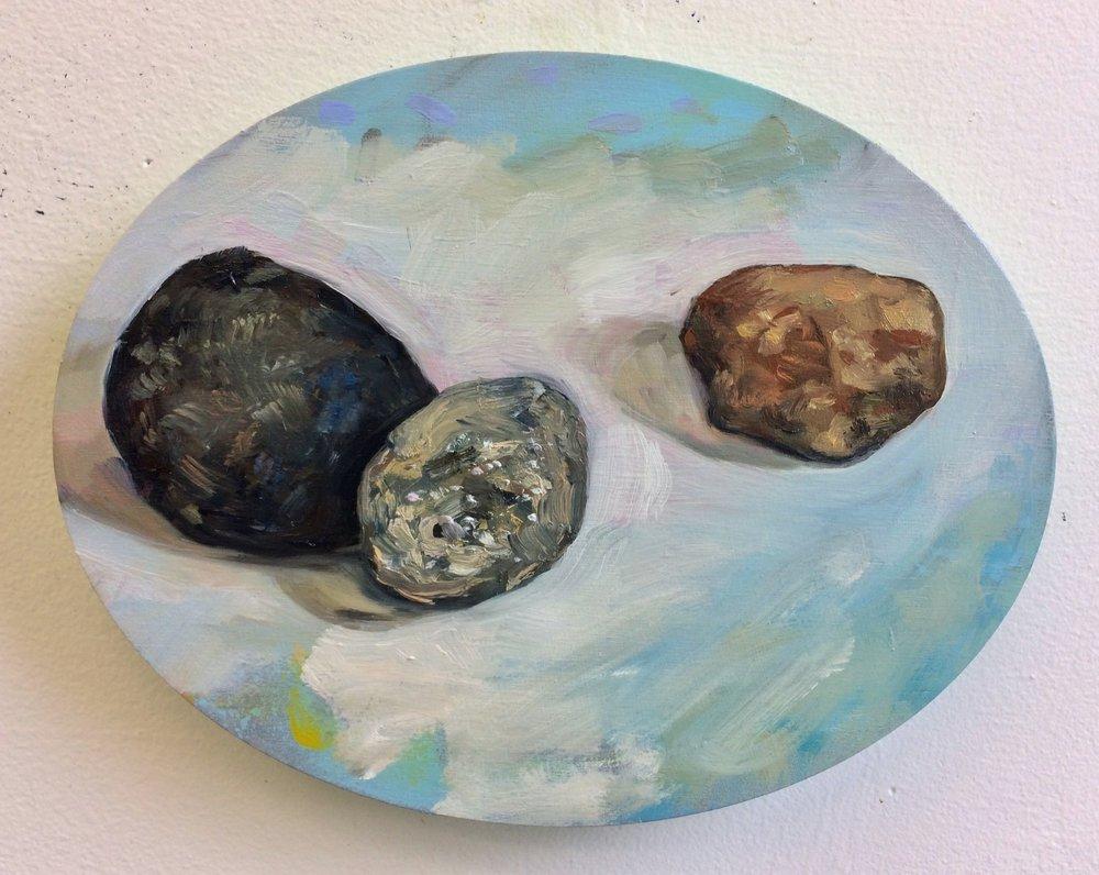 River stone study