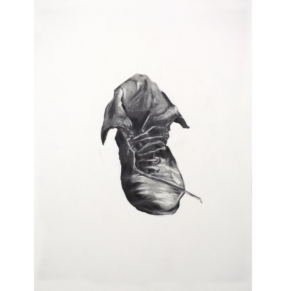 "Lexicon 2, 2013, graphite on paper, 24"" x 18"""