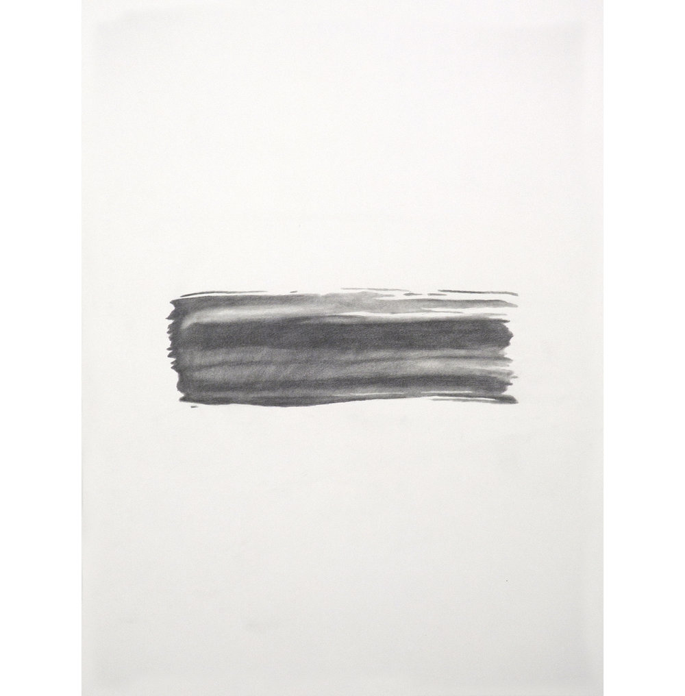 "Lexicon 5, 2013, graphite on paper, 24"" x 18"""