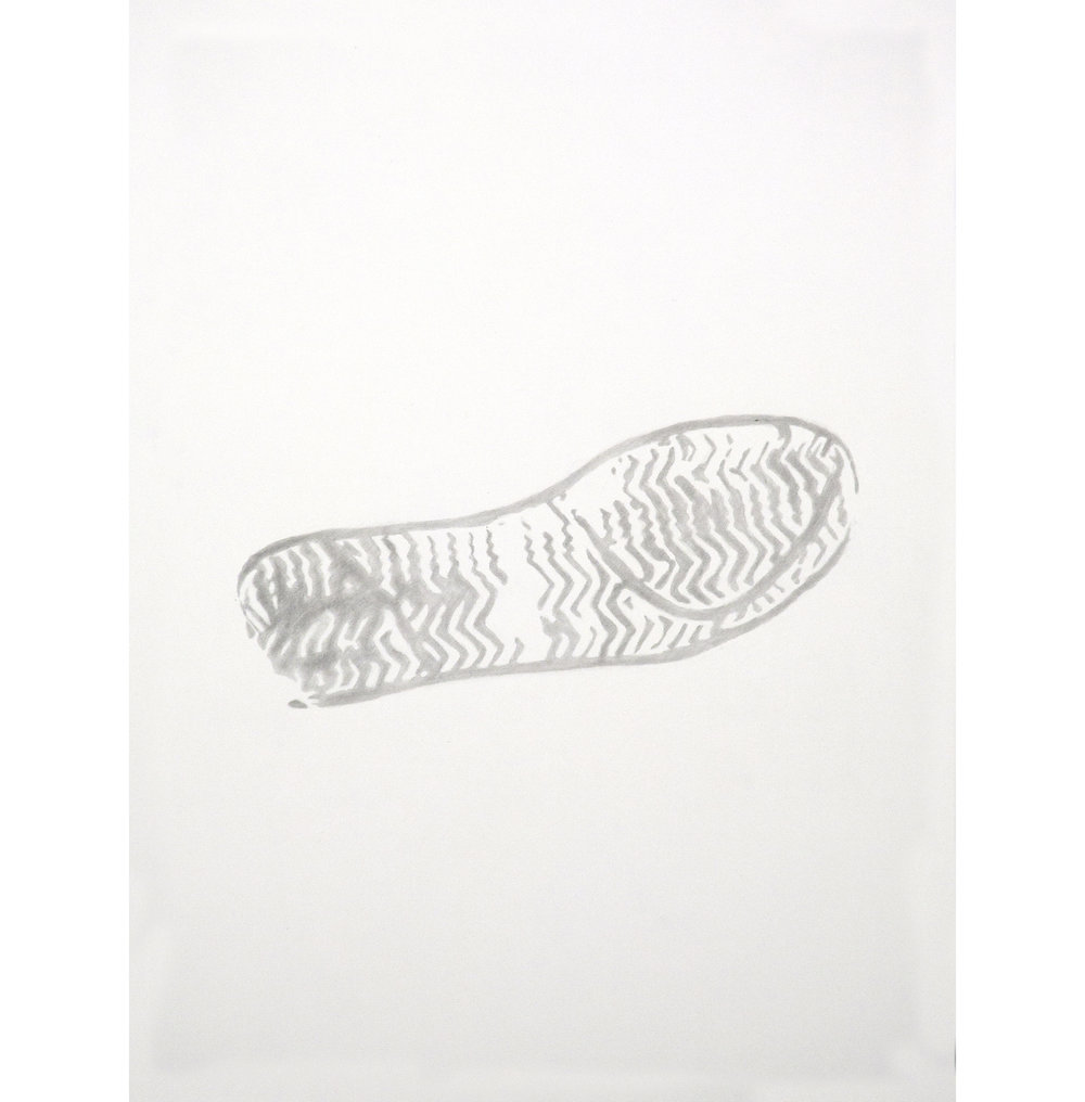 "Lexicon 17, 2013, graphite on paper, 24"" x 18"""