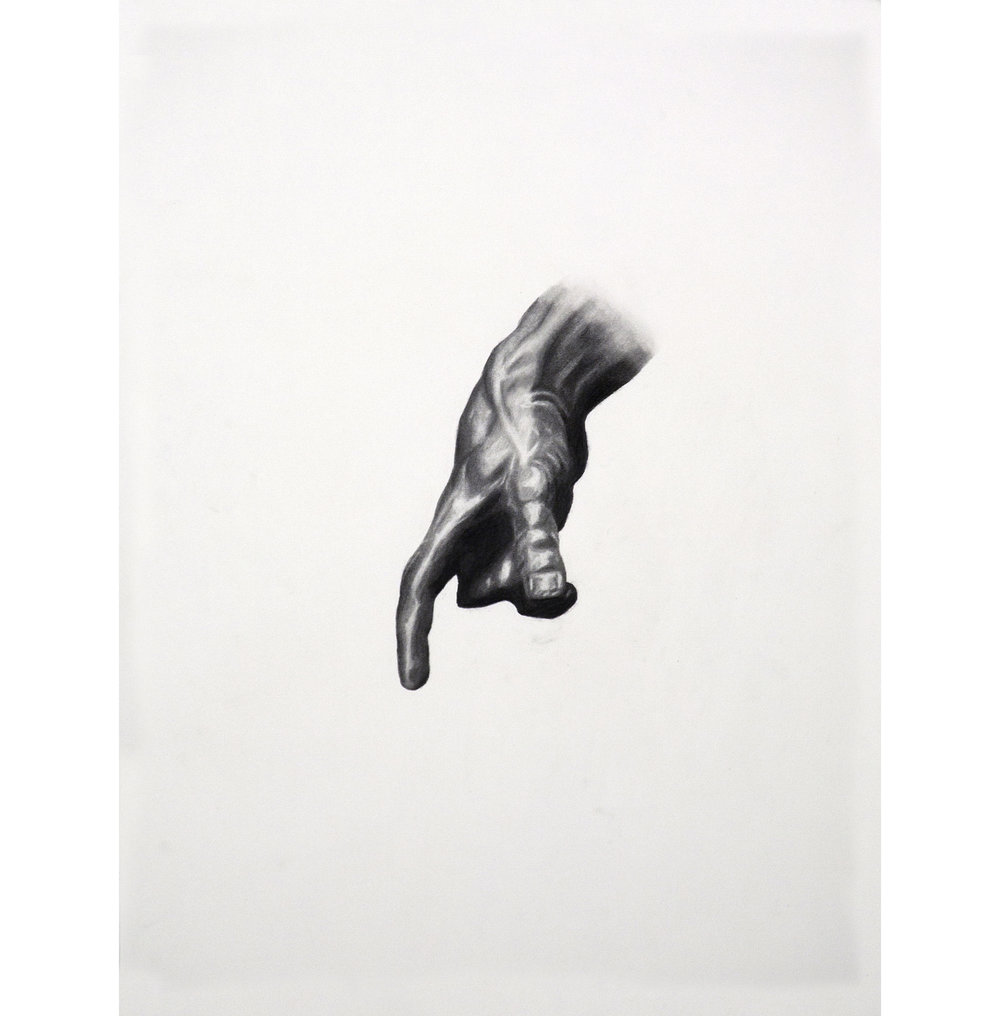 "Lexicon 19, 2013, graphite on paper, 24"" x 18"""