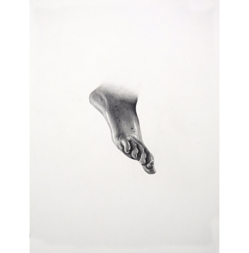 "Lexicon 23, 2013, graphite on paper, 24"" x 18"""