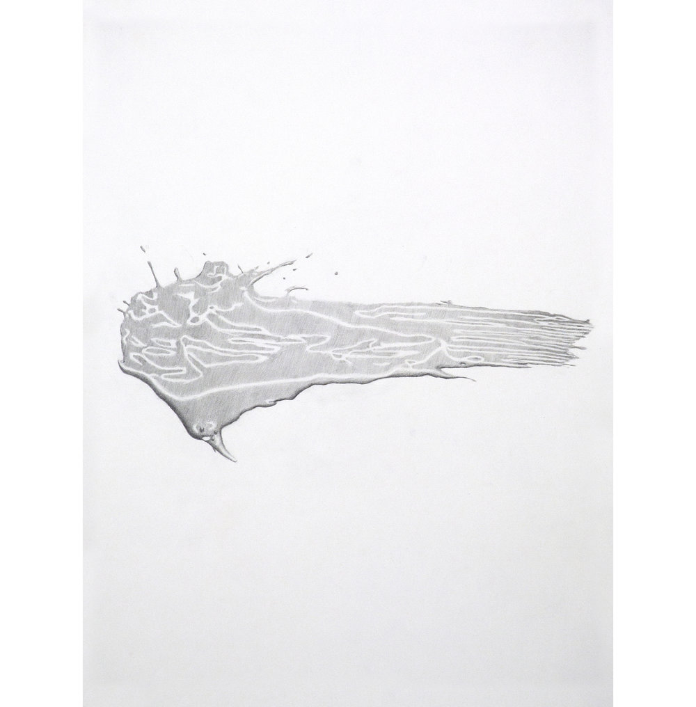 "Lexicon 27, 2013, graphite on paper, 24"" x 18"""