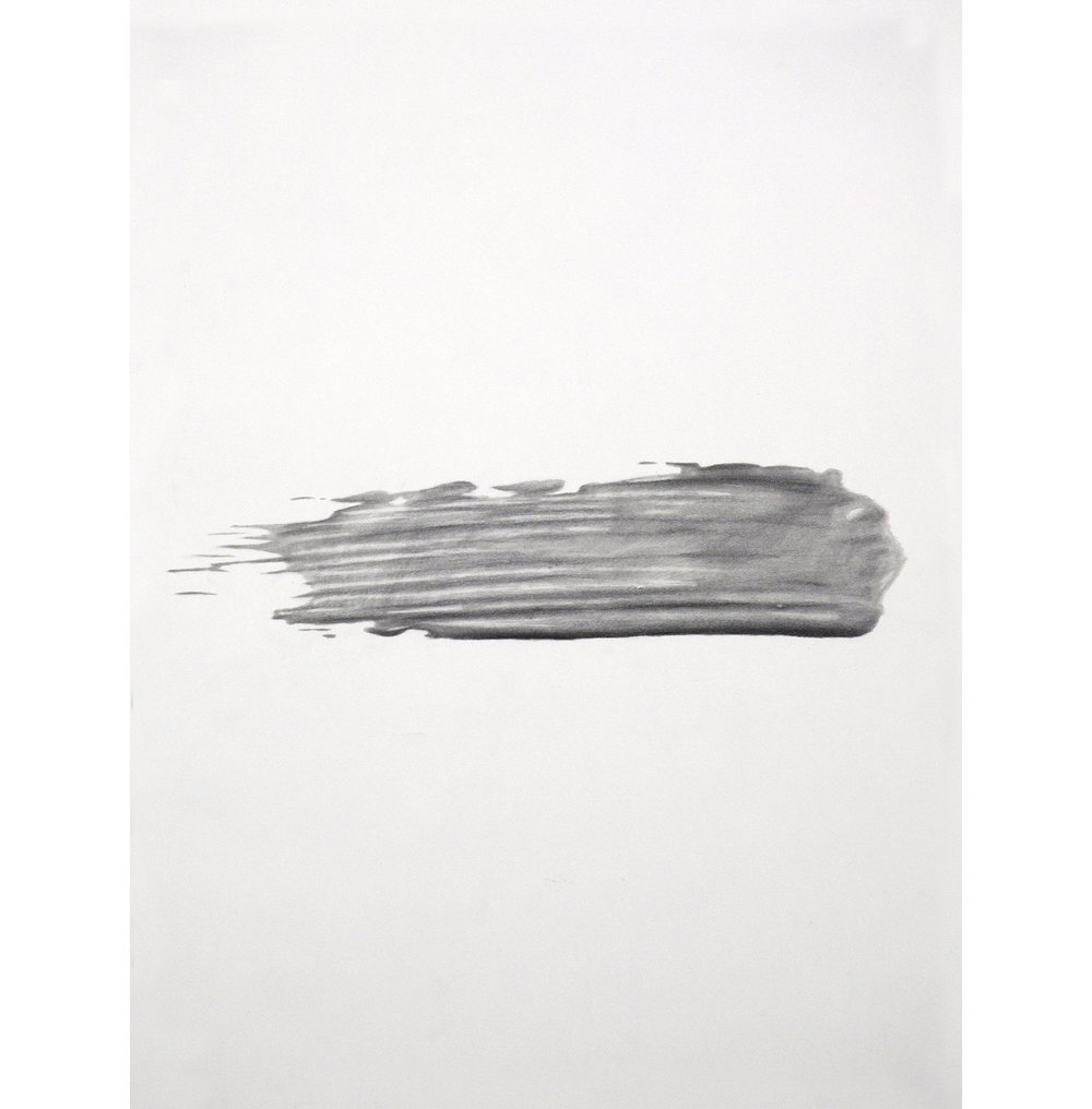 "Lexicon 30, 2013, graphite on paper, 24"" x 18"""
