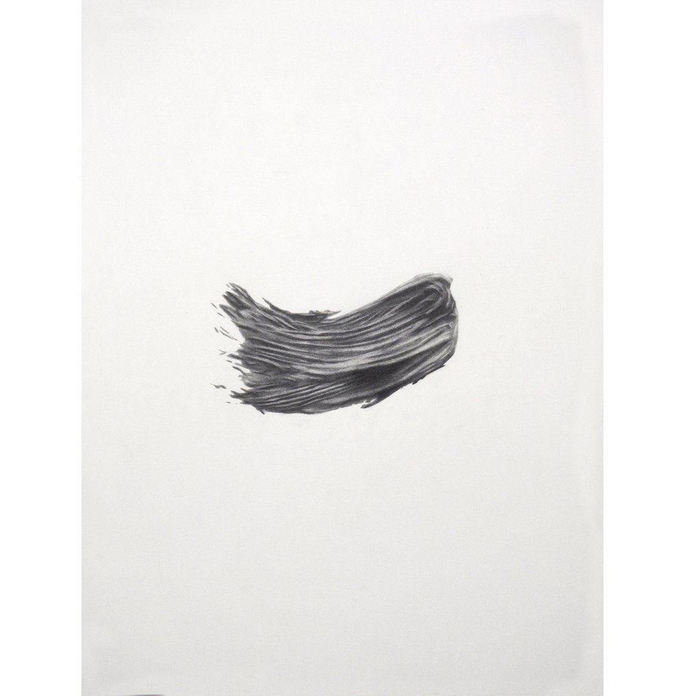 "Lexicon 34, 2013, graphite on paper, 24"" x 18"""