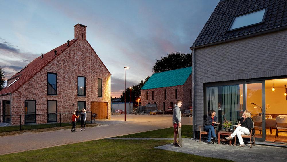 Grobbendonk | Nieuwe wijk - campagnebeeld projectontwikkelaar