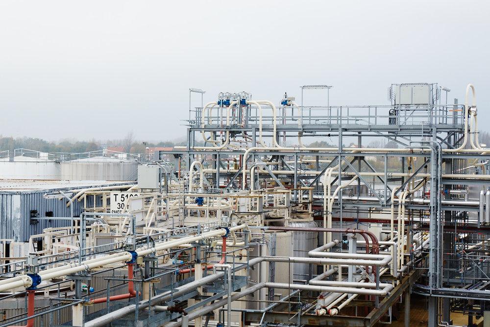 Petrochemische plant in Antwerpen