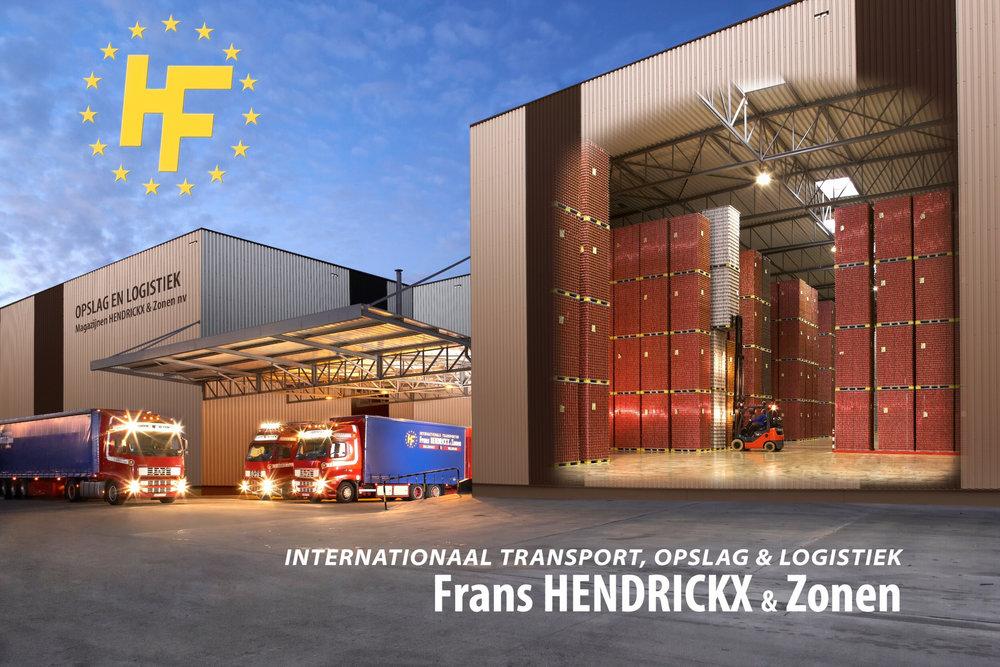 Coverbeeld voor promotie kalender transport bedrijf