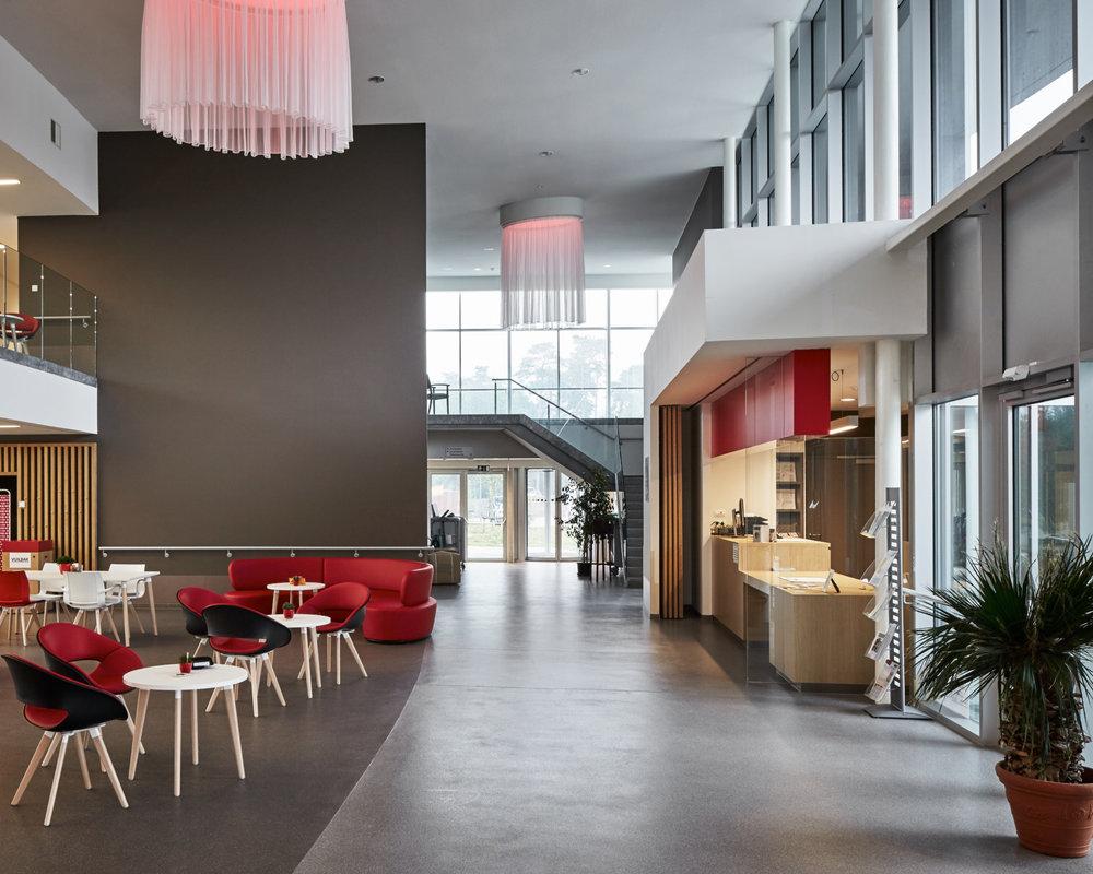 Herentals | Interieur inkom woonzorgcentrum