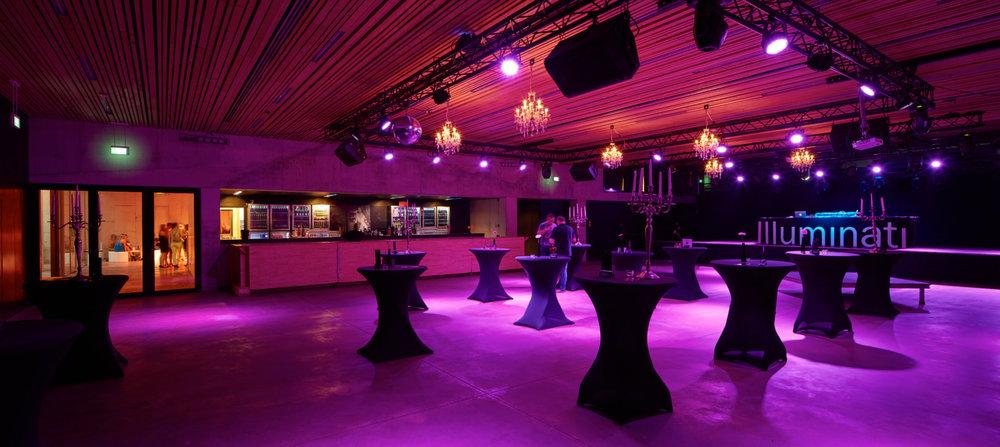 Turnhout | Interieur van feestzaal Futur