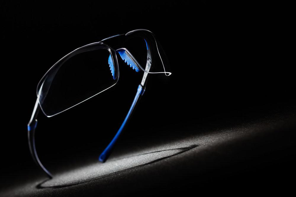 Product fotografie van RX veiligheidsbril