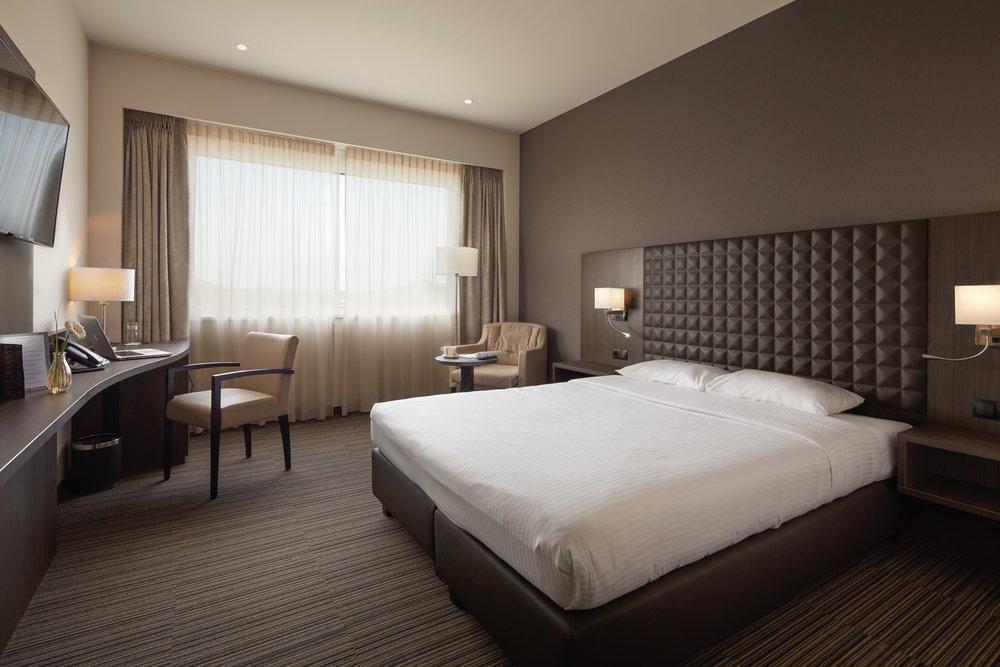Beringen | Hotelkamer met dubbel bed