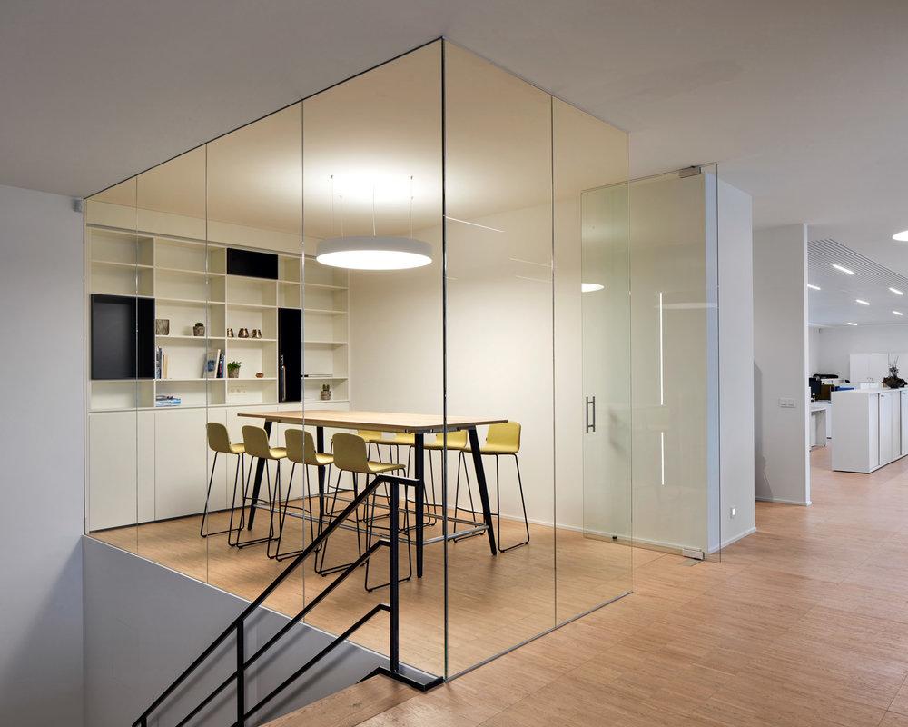 Kruibeke | Interieur van afgezonderde vergaderruimte