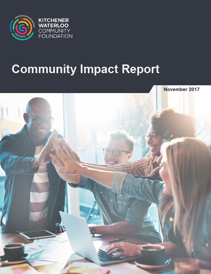 The 2017, fully digital, Community Impact Report replaced the Belonging Impact Report. It was then turned into a pdf for easy printing.