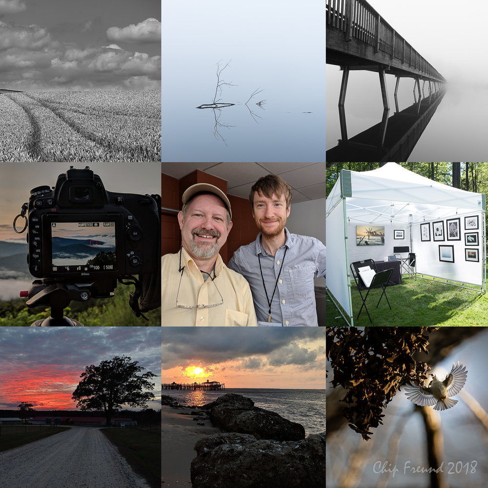 2018 Highlights for Chip Freund Photography