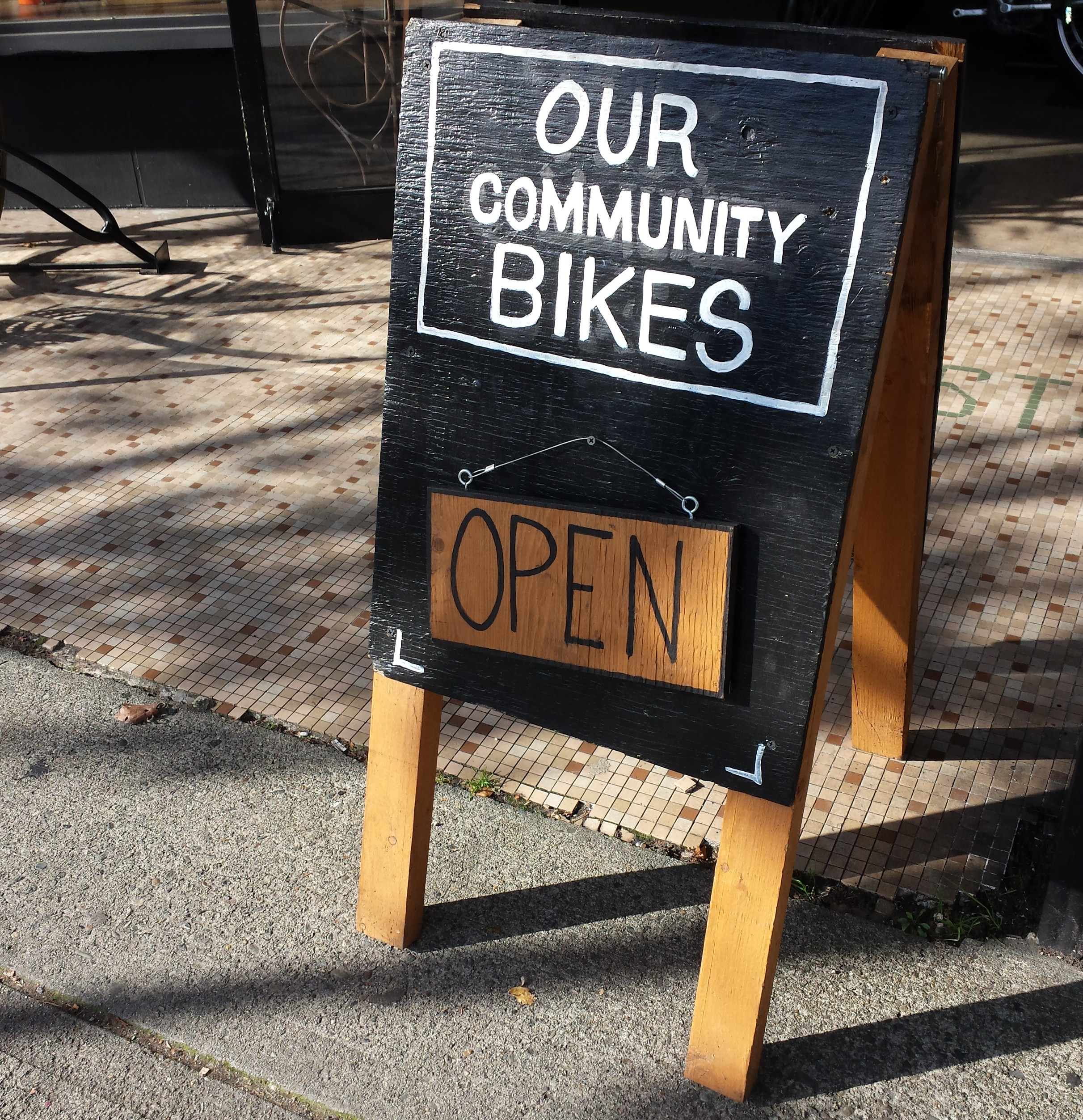 Our Community Bikes open for business