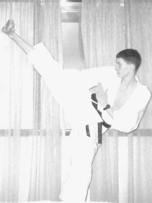 KARATE TRAINING, 1993