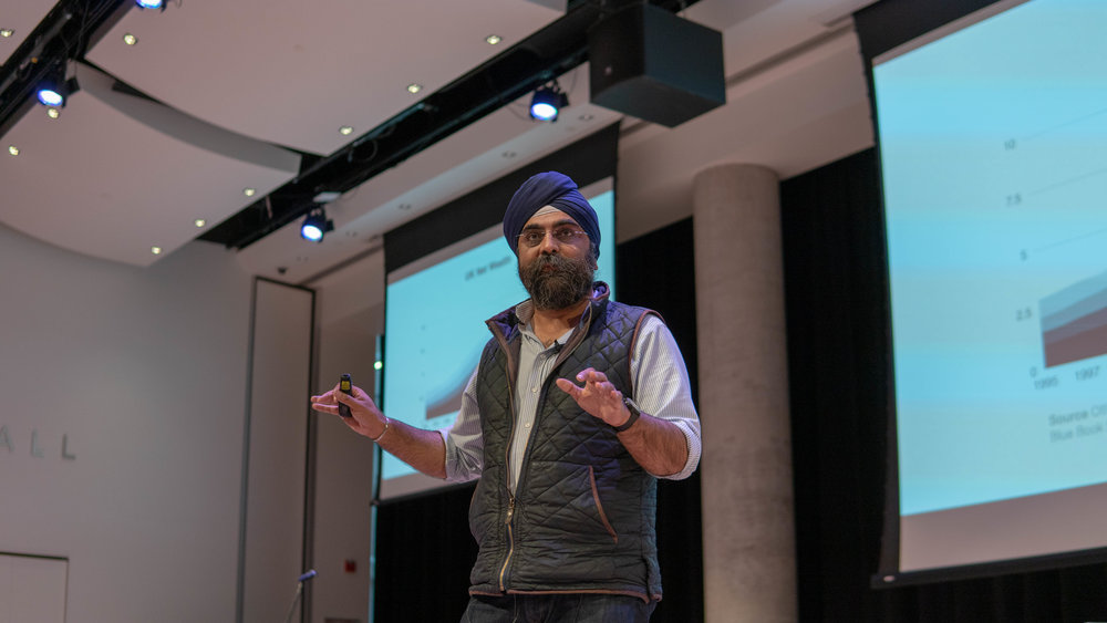 Indy Jahar, London - In a rapidly transforming world with daunting issues such as increasing inequality and climate change, Indy Johar - architect and co-founder of Architecture 00 - encourages us to ask deeper questions.