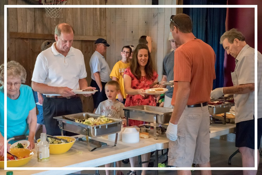 Serving One Another - Join us in serving one another. We have several opportunities for you to put your God-given abilities, interests, and spiritual gifts into action as together we build up the church for God's Glory.