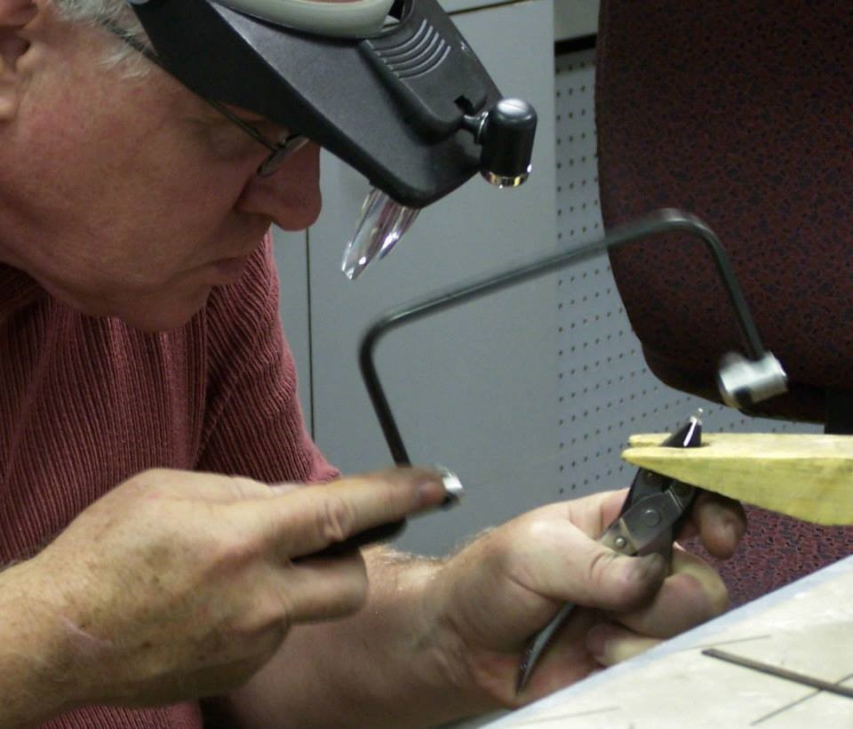 John Alexander Teaching Jewelry Classes.
