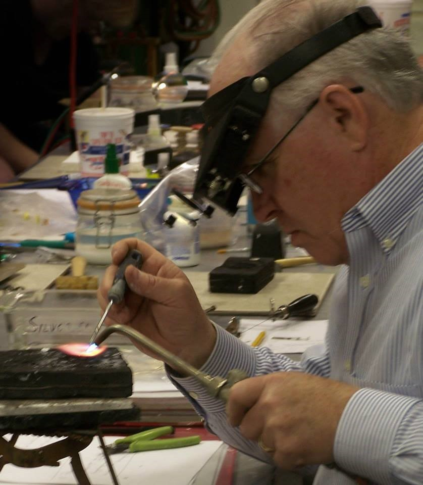 John Alexander Teaching A Jewelry Class.