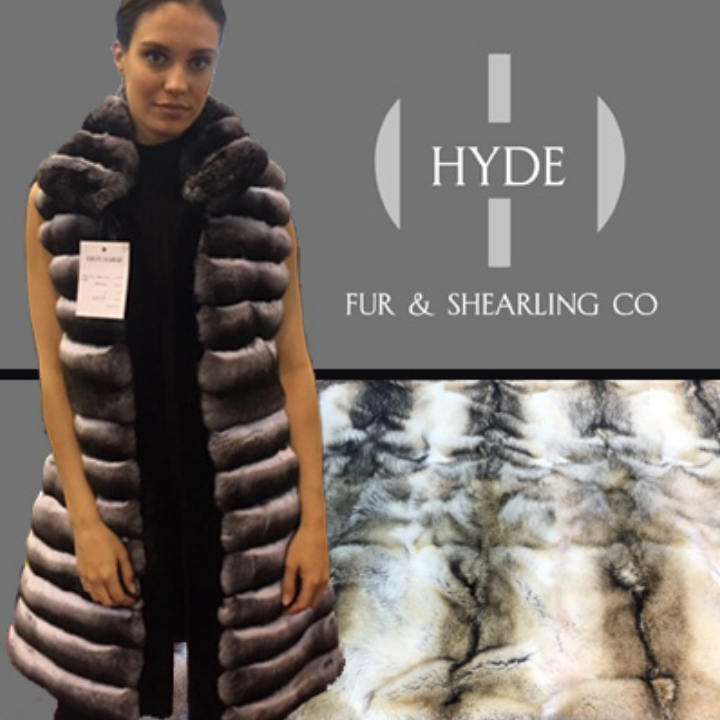 Hyde Fur & Shearling Co. - Booths 320 & 419Look luxurious & keep warm with world class furs. You'll love our fine selection of coats, jackets, vests, capes, stoles, shawls, blankets and accessories backed by four generations of Master Furriers.Family owned and operated from Anchorage, Alaska.We stand behind all of our products.