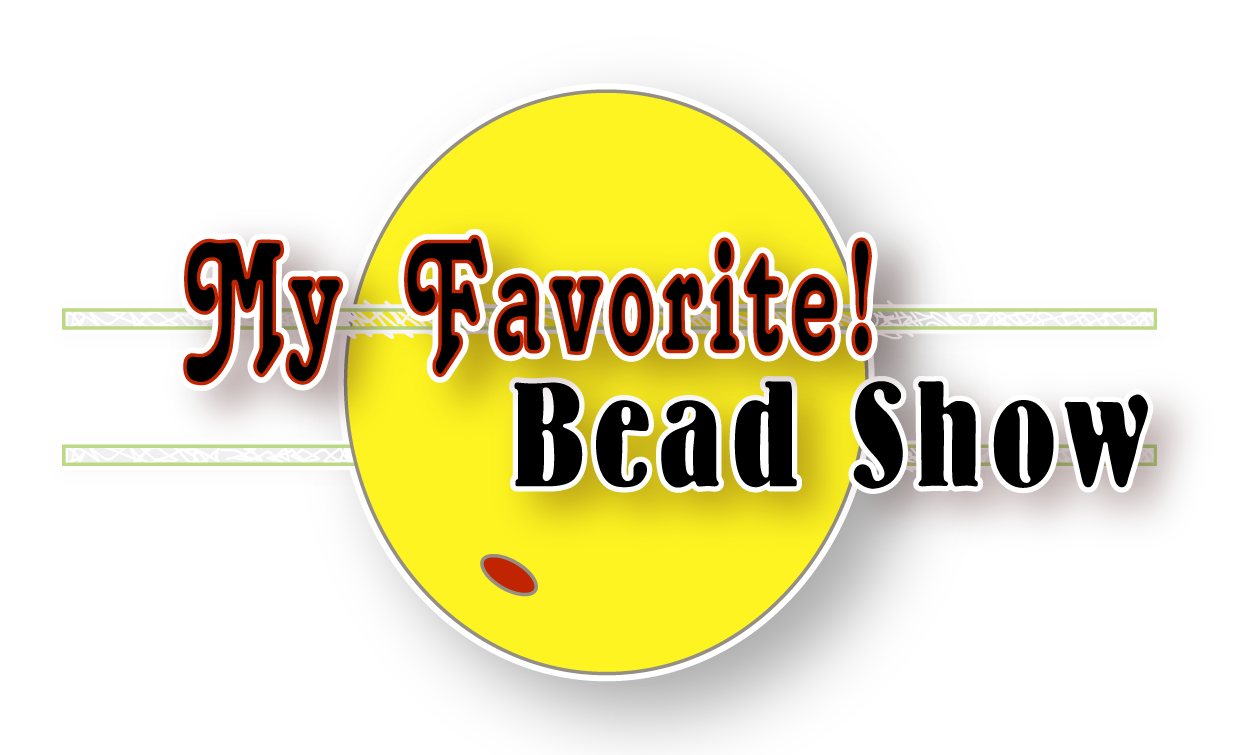 My Favorite! Bead Show Logo