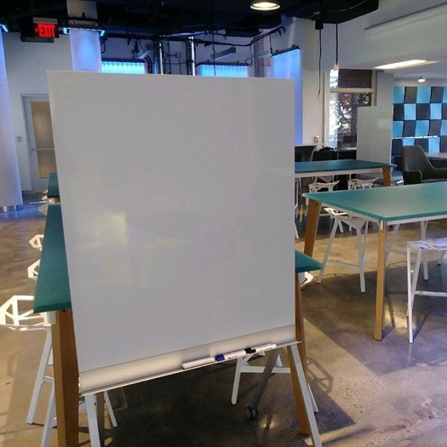 We hope everyone had a great break! There are new white boards in the space to welcome you back