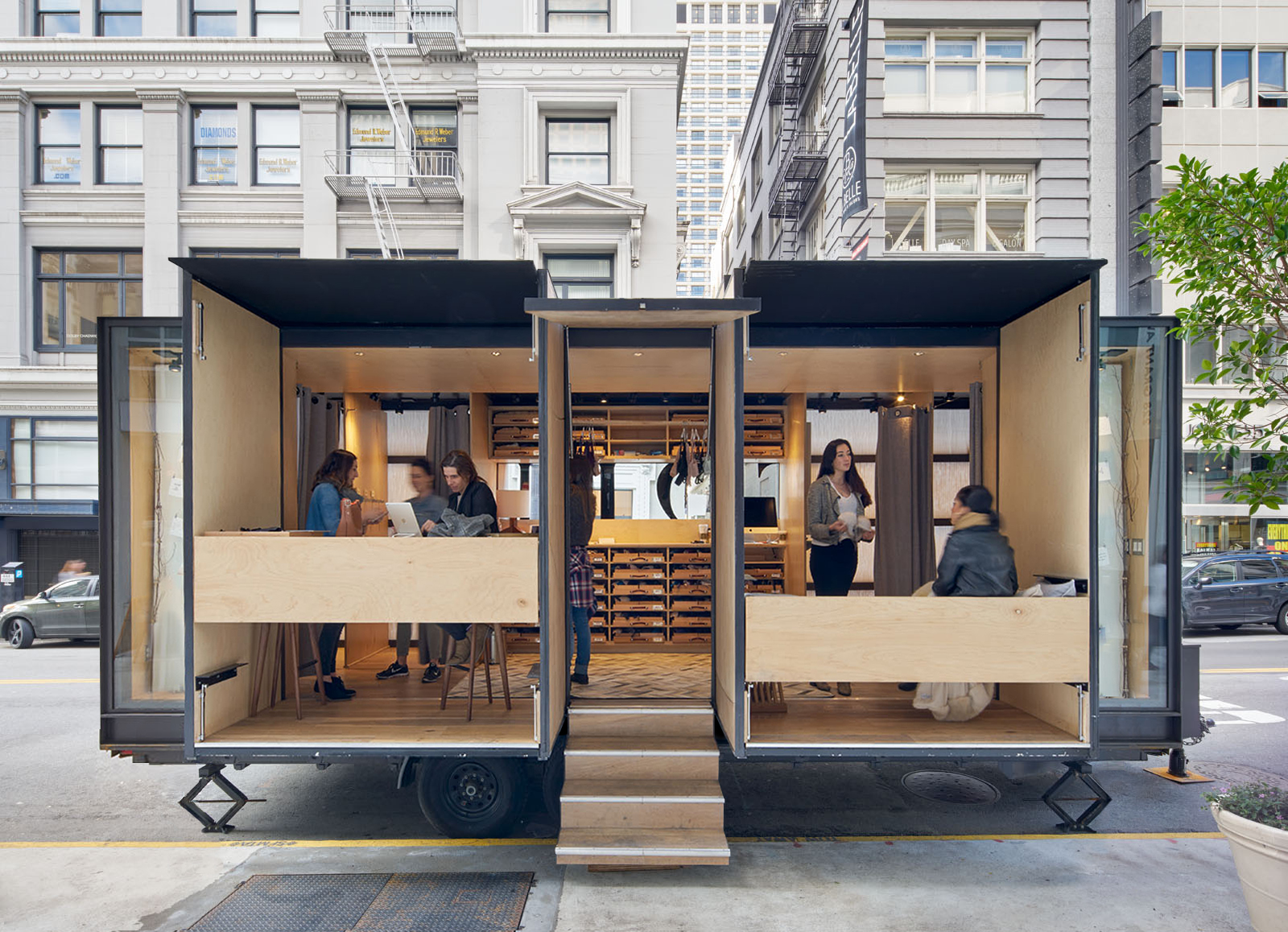 Try-on Truck — MOA - Mobile Office Architects