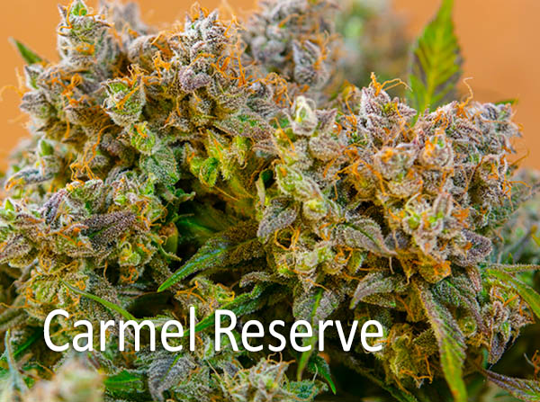 - Carmel Reserve AROMA: Sweet caramel smell FLAVOR: Buttery and Caramel flavor EFFECTS: Euphoric high, quite potent, instantly felt and long lasting. It can last between three and four hours. You will experience an increase in concentration and focus and you will feel incredibly calm. It is well suited for treating medical conditions like anorexia, pains, aches, insomnia and anxiety.