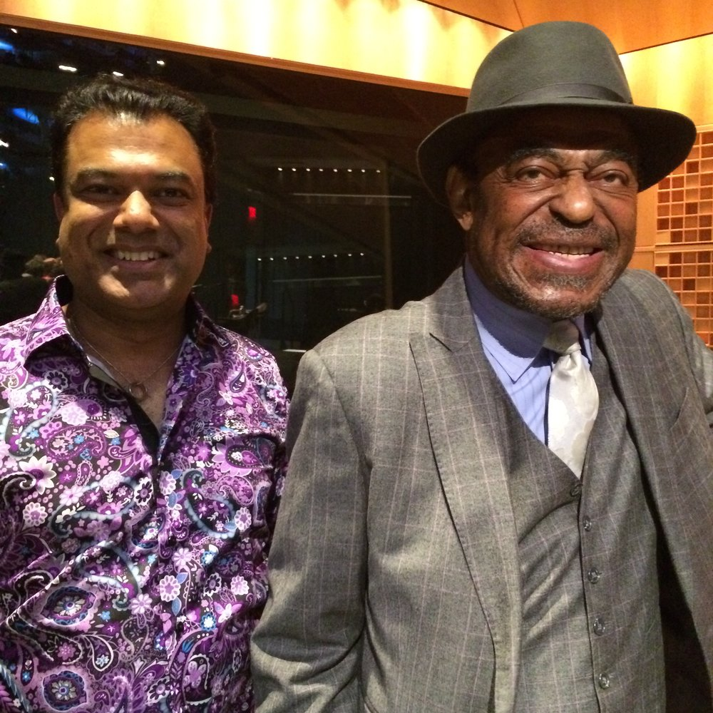 Me and Archie Shepp at the NEA Jazz Masters Ceremony, April 2016.