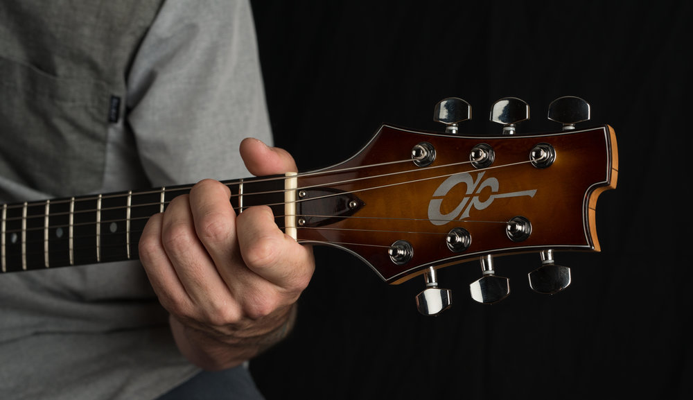 Da-Rel Headstock - DWP Guitars