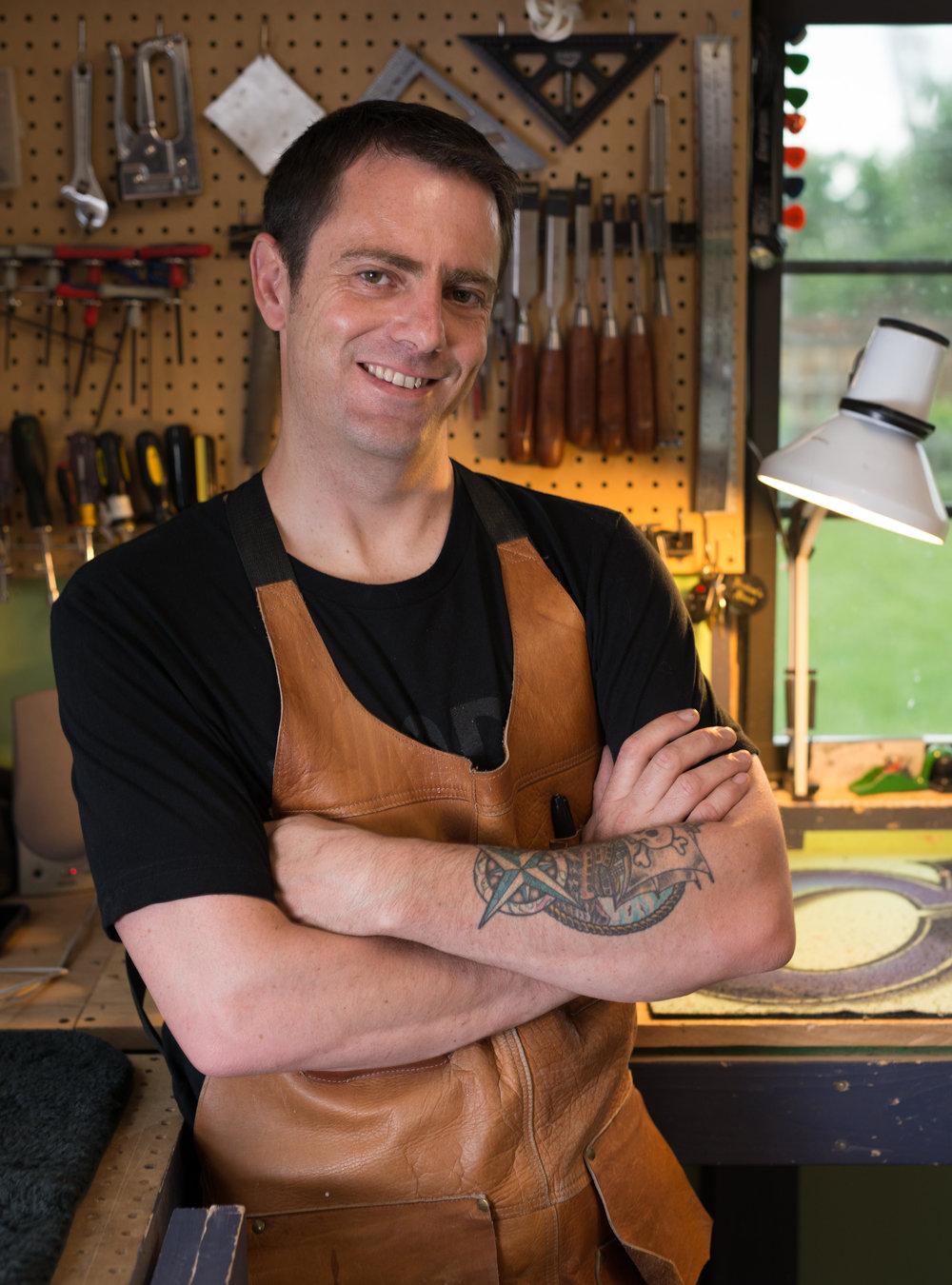 Darrell Plampin - Owner of DWP Guitars