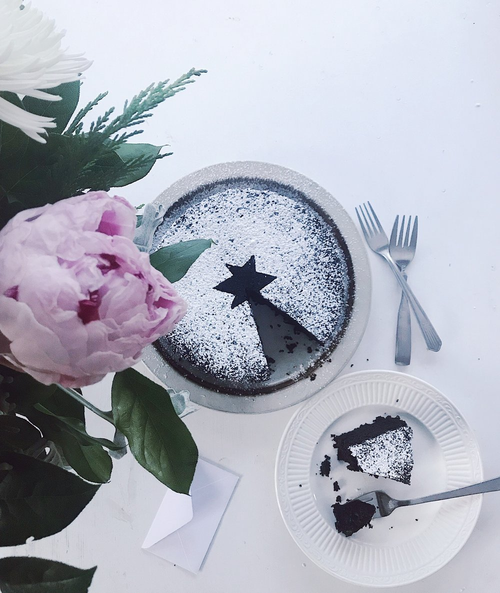This cake involves no stand mixer or electric mixer, instead it just relies on a whisk and some elbow grease. Don't be turned off by the olive oil, it contributes to a moist and wonderfully fruity chocolate cake. Photo by Addy Cummings