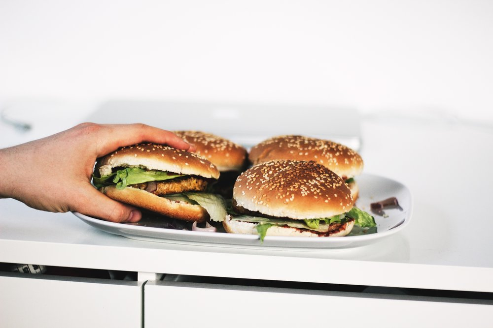 This recipe is for an easy vegan burger that is packed with protein rich quinoa and meaty mushroom flavor. The best part of these burgers is that they do not have any strong spices or herbs which makes them perfectly customizable. Use this recipe as a base and have fun adding your favorite toppings.