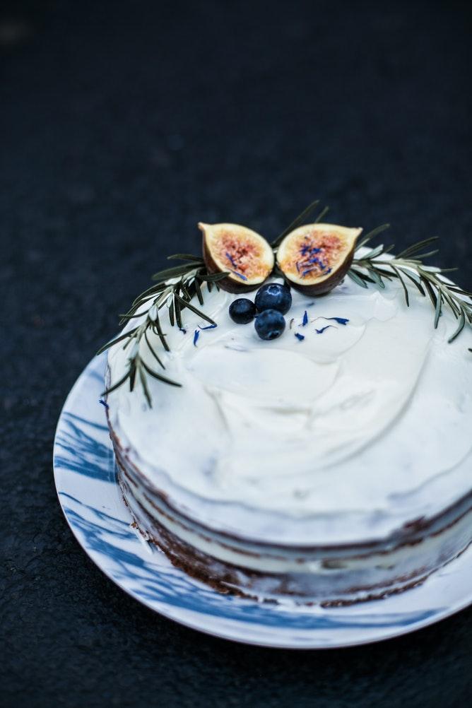 Teff Carrot Cake