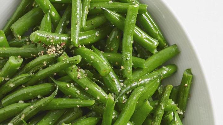 These garlic-dressed beans bring snap and flavor to any side dish. Really easy to put together, too. Photo credit: All recipes