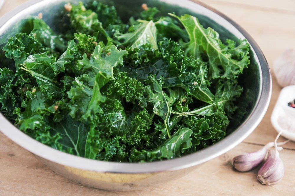 Quick Garlicky Kale