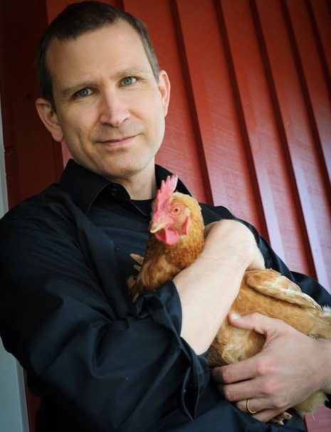 Photo Source . Bruce Friedrich, Co-founder and Executive Director of The Good Food Institute