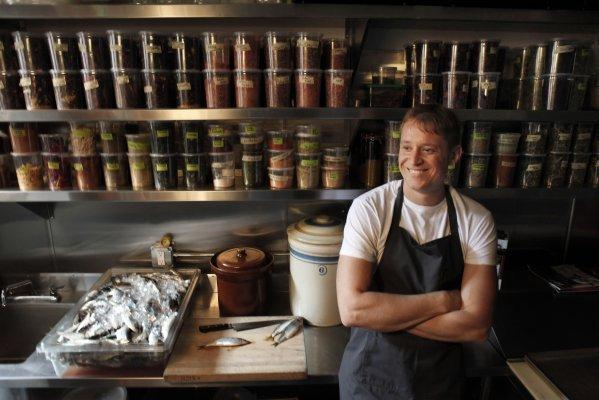 "Chef Nick Balla believes changing ""the culture of consistency and expectation"" is the key to reducing food waste. Photo Credit: The Chronicle via SF Gate  Photo Source"