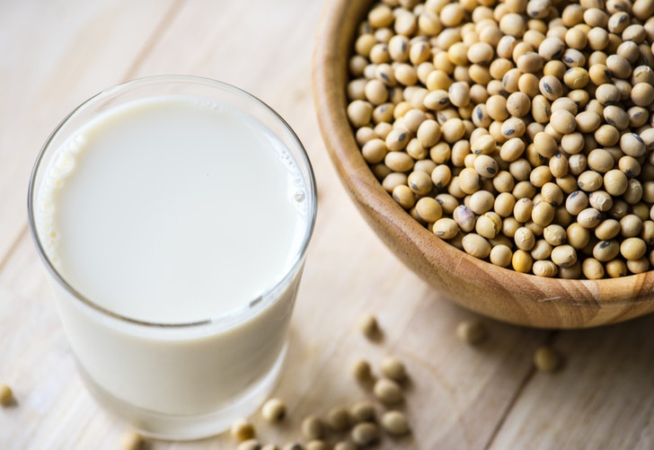Soy milk is among a wide array of vegan options taking over the dairy market. Plant-based milks now make up 13 percent of retail milk sales.  Photo source